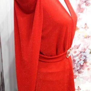Blusa glamour roja