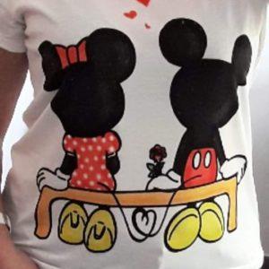 camiseta Mikey y Minie
