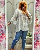 Blusa ibicenca blanca