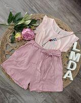 Pantalón corto rosa